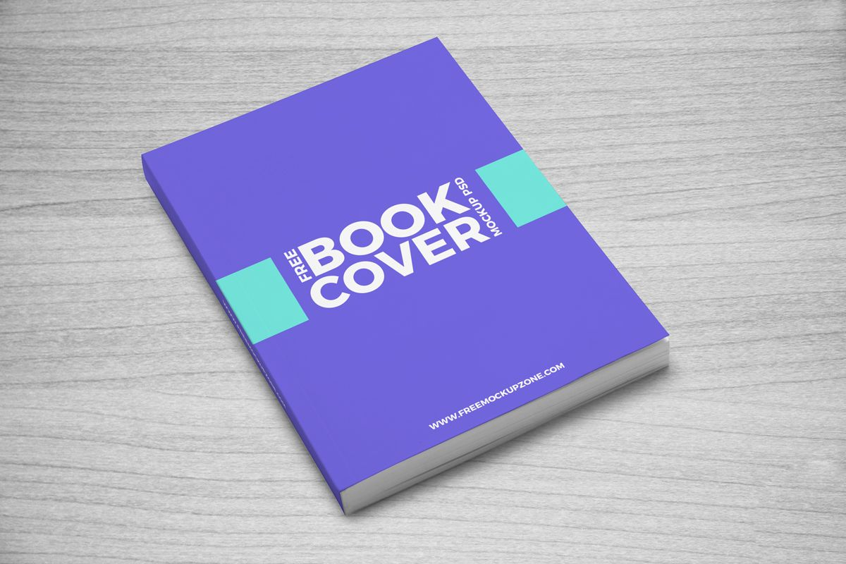 Free-Book-Cover-Mockup-PSD | Mockup | Pinterest