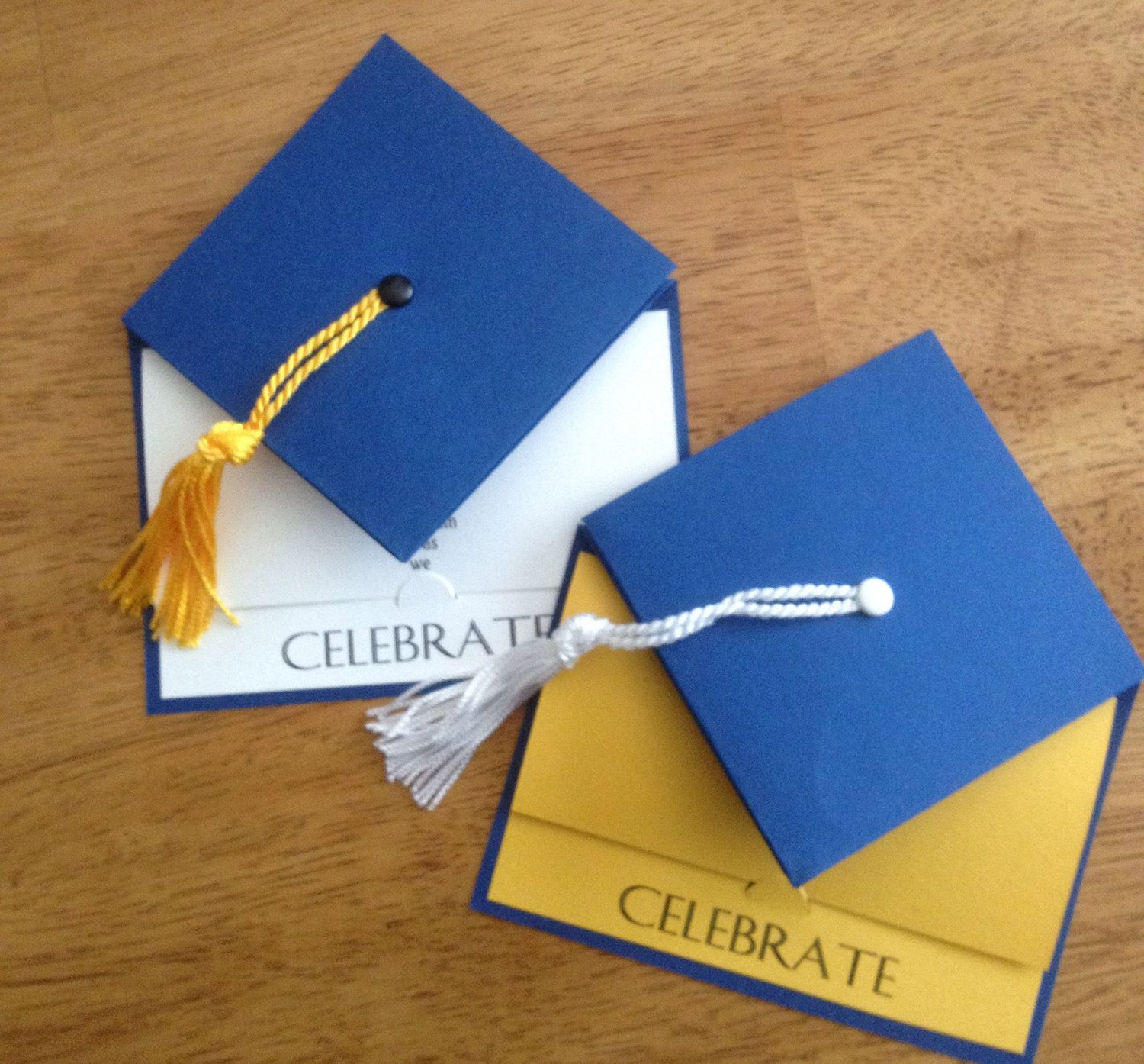 Graduation Party Invitation - School Colors - Graduation Cap ...