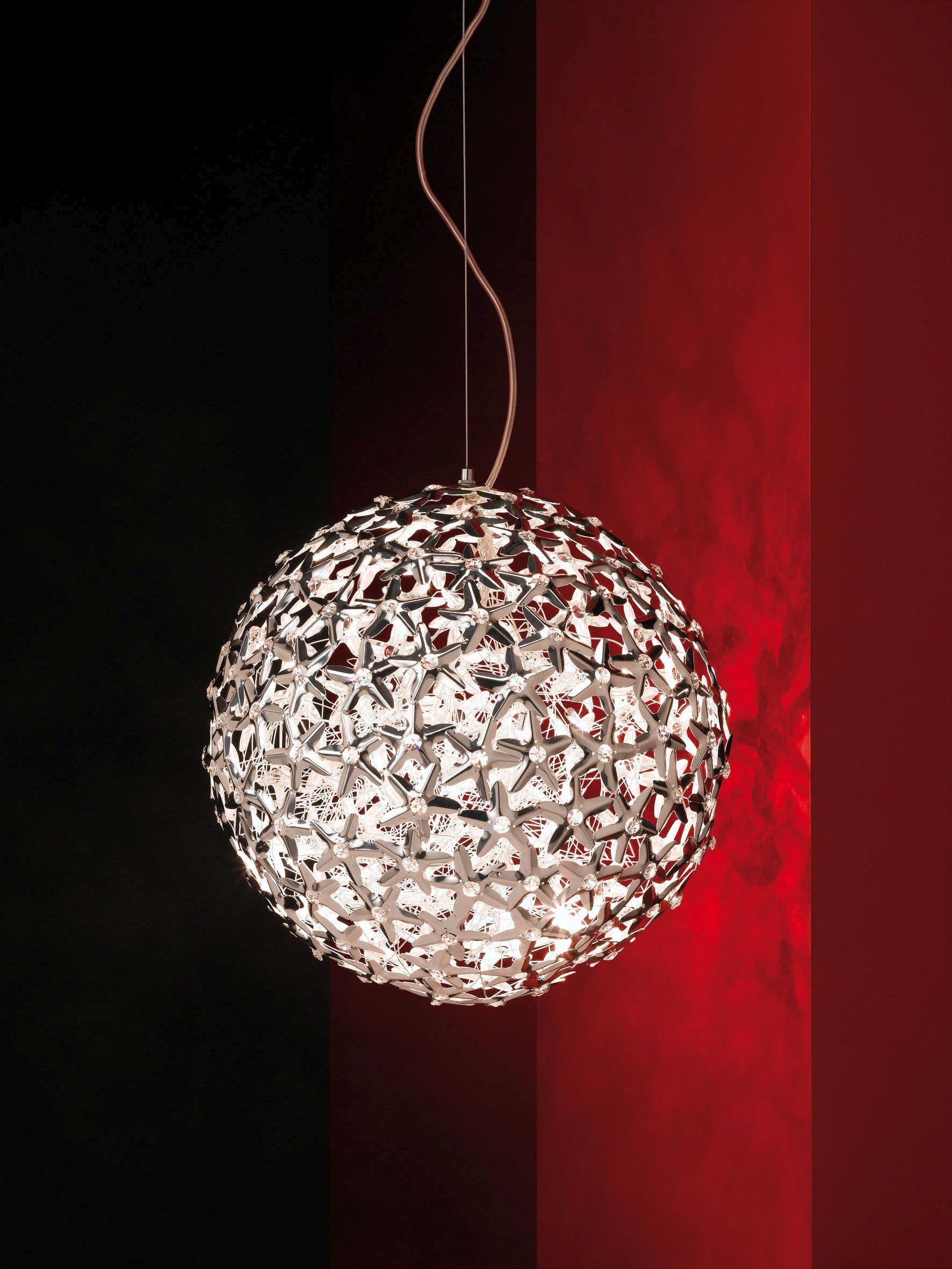 Kugellampe für ein elegantes Schlafzimmer (mit Bildern