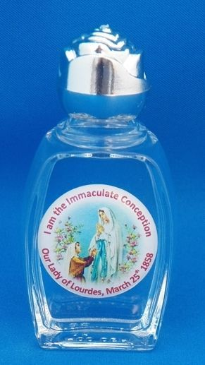 Our Lady of Lourdes France Holy Water in Bottle Authentic Seal HEALING WATER