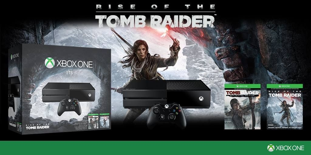 XBOX ONe 1To Version Tomb Raider
