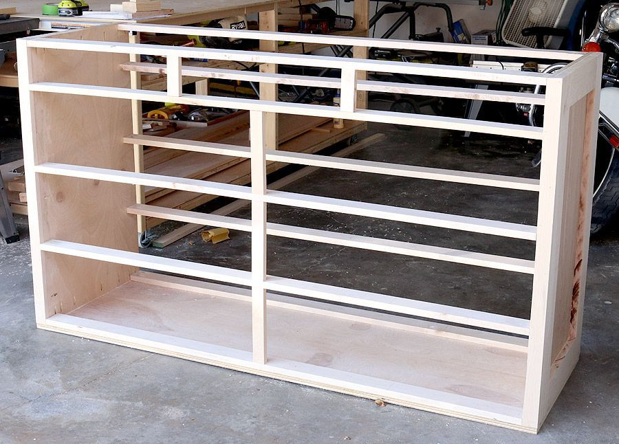 Part One Learn How To Build A Diy 9 Drawer Dresser With Free Design