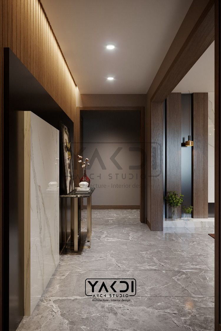 Entrance Hall Renders Interior Architecture Design Modern Apartment Studios Architecture