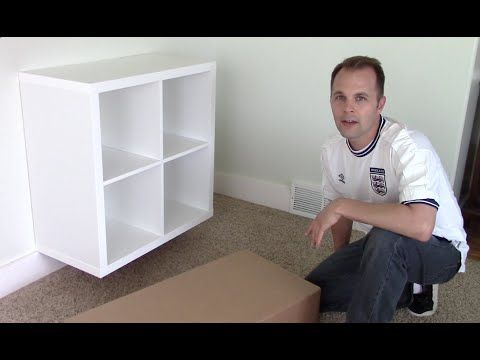 Ikea Expedit Kallax Shelf How To Emble And Wall Mount