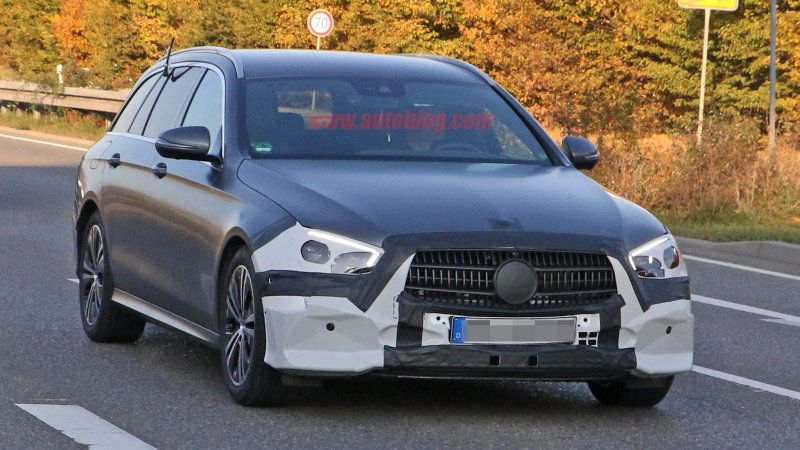 2020 Mercedes Benz E Class Revealed In Spy Photos Mercedes E