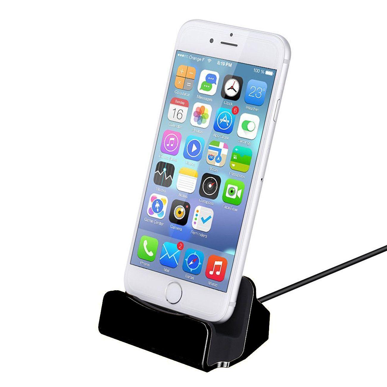 Appleiphone jamena charger docking stand black iphone