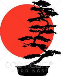 Resultado De Imagen Para Bonsai Tree With Sunset Bonsai Tree Tattoos Silhouette Art Tree Silhouette