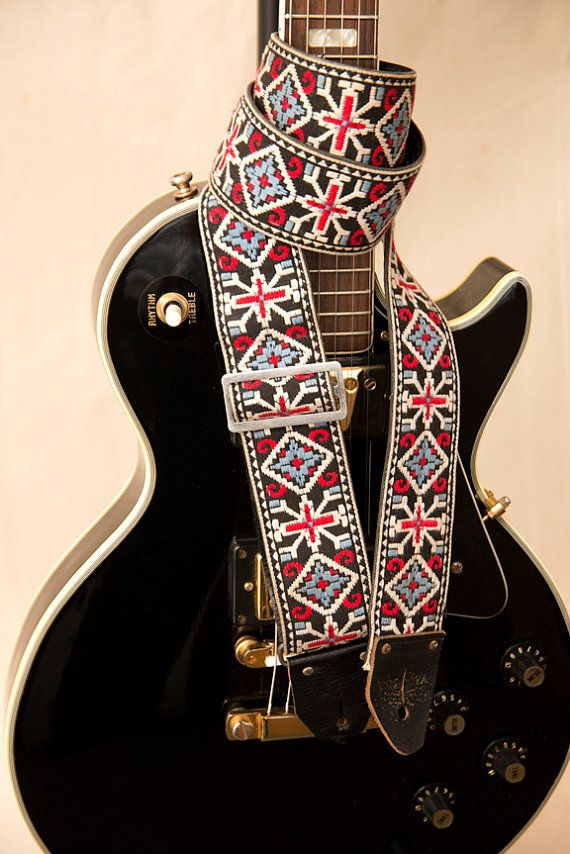 Vintage Johnny Cash Guitar Strap Famous The By Thenthereandnow Guitar Strap Johnny Cash Guitar Strap Vintage