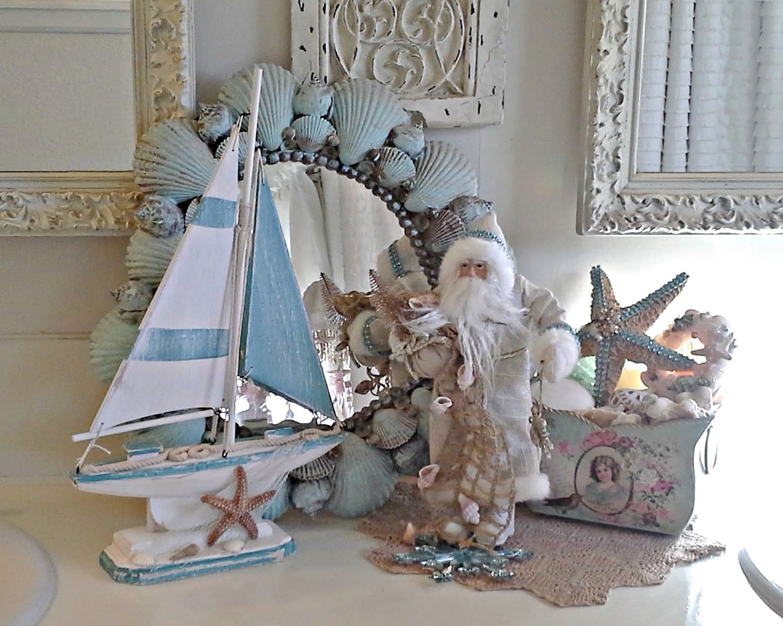 Pennys Vintage Home Coastal Christmas Decor