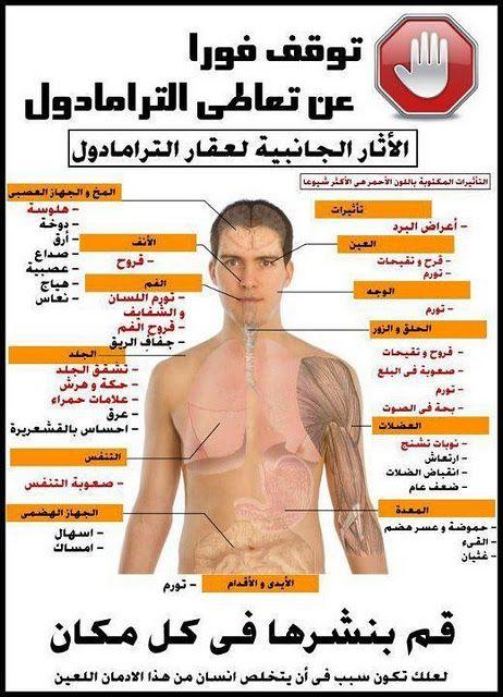 اضرار الترامادول علي الجسم مدونة صيدلية الملاك Medical Information Health Health Fitness