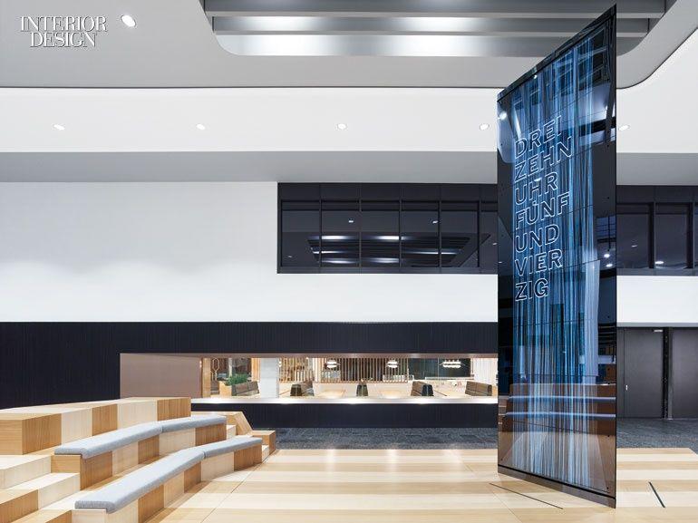 Scope Architekten Transforms The Corporate Campus Of German Software Giant  SAP. Corporate Office DesignCorporate InteriorsCorporate ...