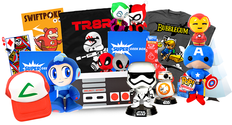 Super Geek Box Epic Monthly Geek and Gamer Subscription