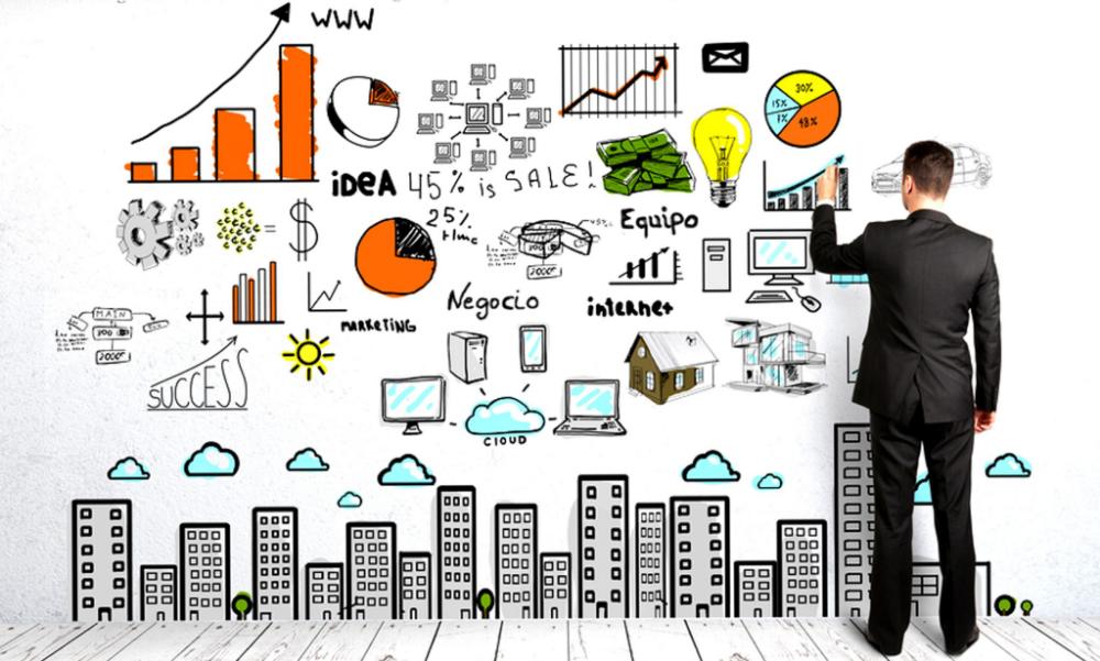 caratula de emprendimiento y gestion - Buscar con Google | Marketing  strategy, Online marketing, Marketing conferences