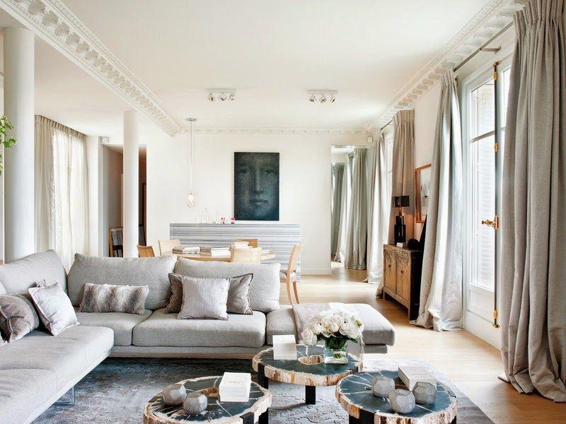 Neutral Paris apartment - The Alluring Style of the Modern Paris ...