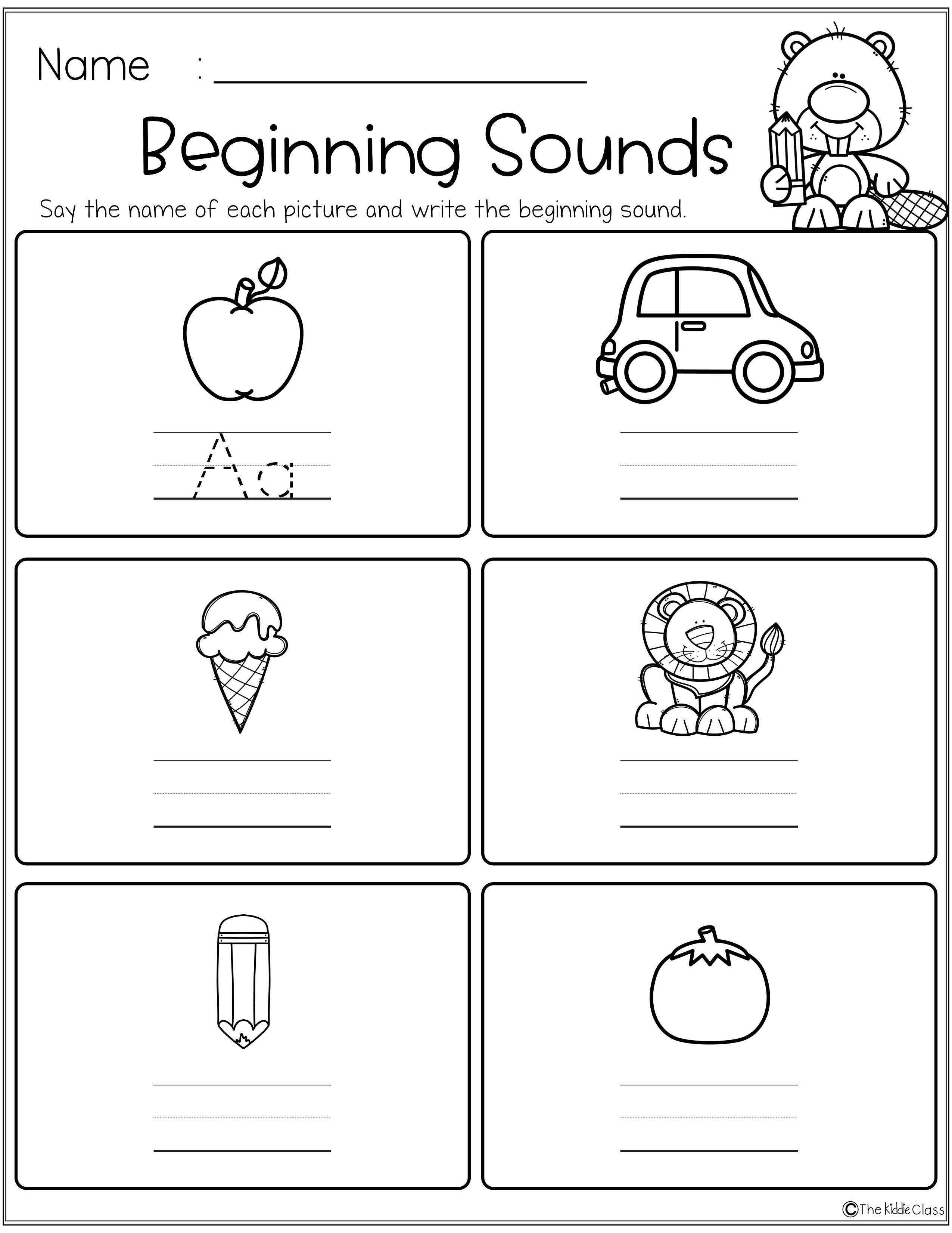 Free Beginning And Ending Sounds