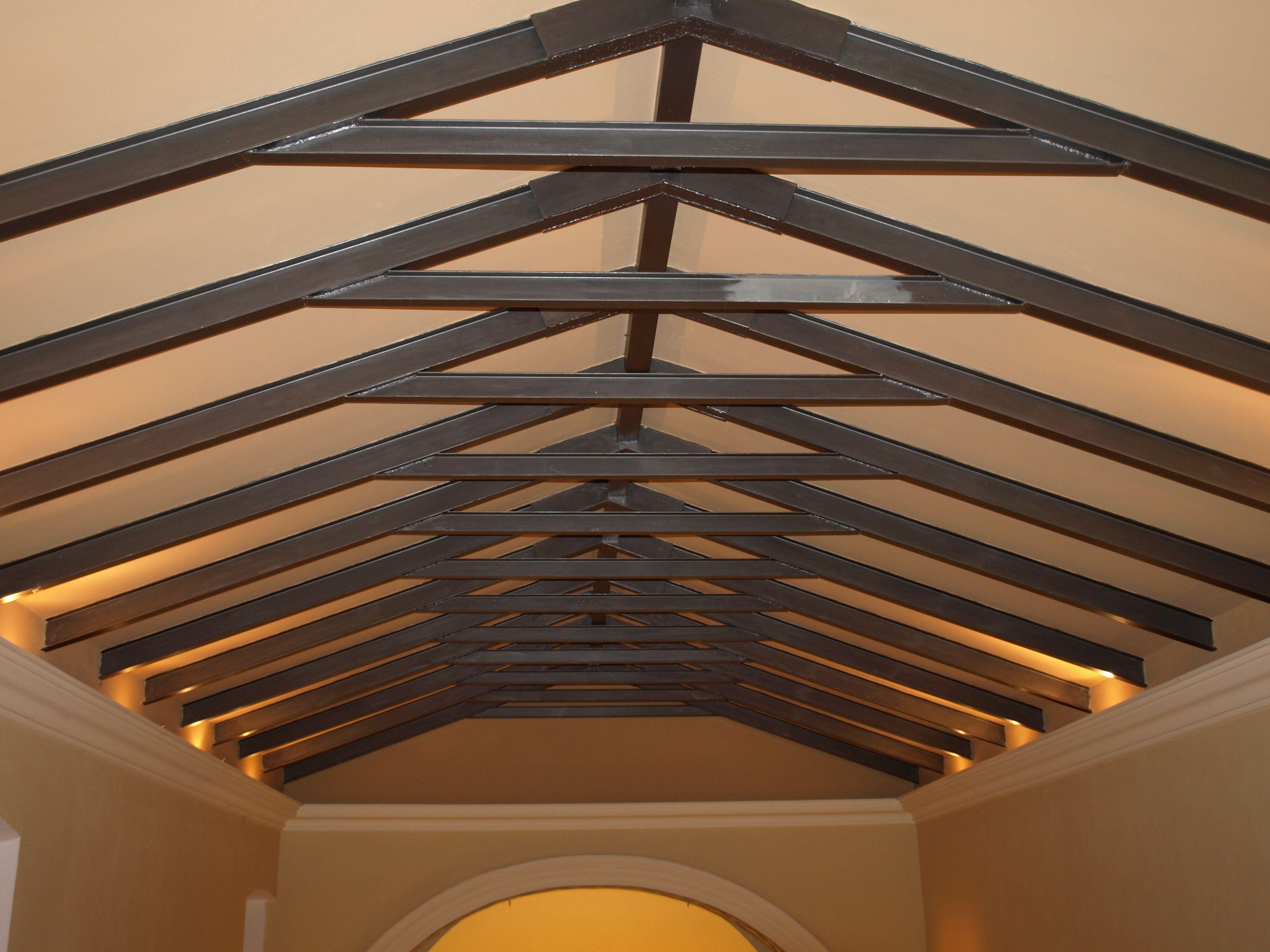 detalle del techo de la ermita