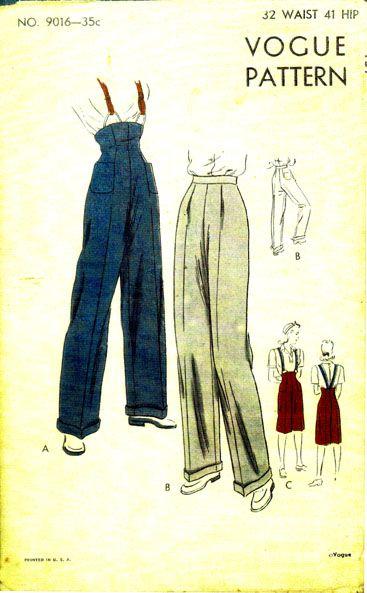 Vogue 9016 | WORKWEAR | Pinterest | Vintage bluse, Vintage ...