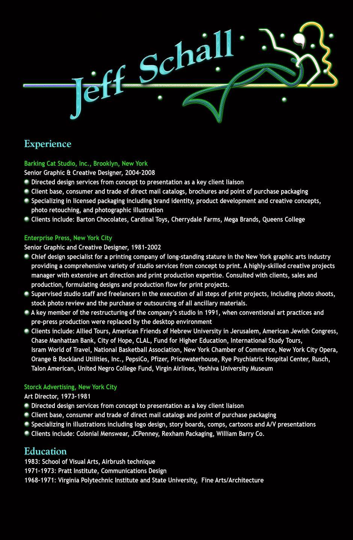 Graphic Designer Resume  HttpWwwResumecareerInfoGraphic