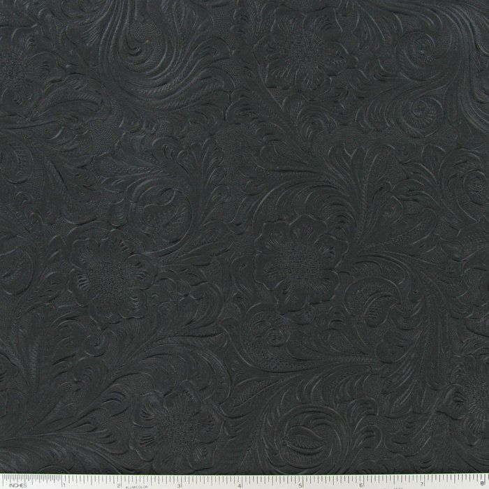 Black Embossed Vinyl Fabric Hobby Lobby 438234 Vinyl Fabric Fabric Decor Home Decor Fabric