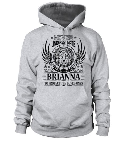 # BRIANNA NEVER UNDERESTIMATE .  BRIANNA NEVER UNDERESTIMATE  A GIFT FOR THE SPECIAL PERSON  It's a unique tshirt, with a special name!   HOW TO ORDER:  1. Select the style and color you want:  2. Click Reserve it now  3. Select size and quantity  4. Enter shipping and billing information  5. Done! Simple as that!  TIPS: Buy 2 or more to save shipping cost!   This is printable if you purchase only one piece. so dont worry, you will get yours.   Guaranteed safe and secure checkout via…