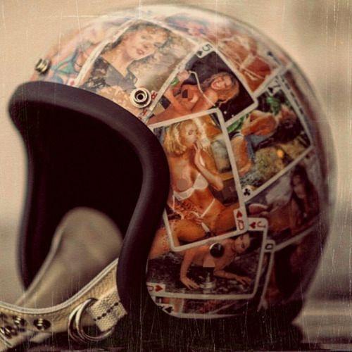 How To Sticker Bomb Helmet Vintage Helmet Motorcycle Helmets Vintage Motorcycle Helmet Design