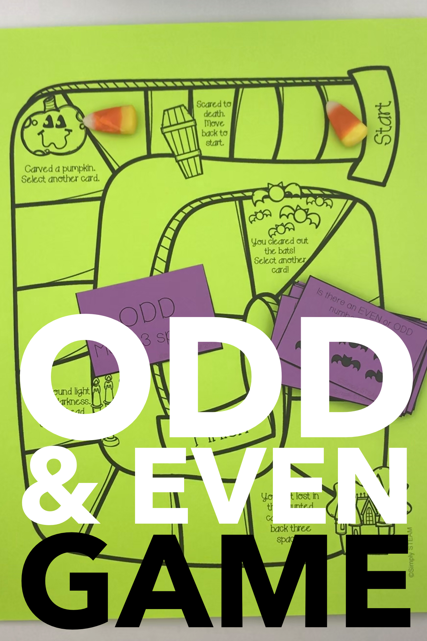 Halloween Math Games Second Grade Odd And Even