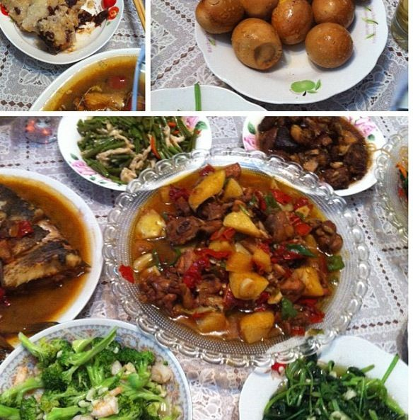 Gt invited to my driver 徐师傅乌鲁木齐家过节,他们过节是吃红枣粽子和卤蛋!