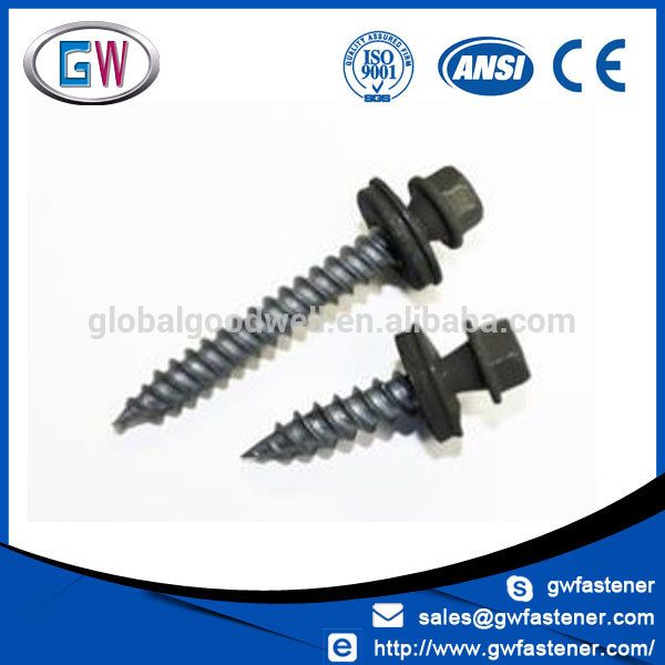 Hex Head Painted Head Roofing Self Tapping Screw With Images Buying Paint Roofing Screws