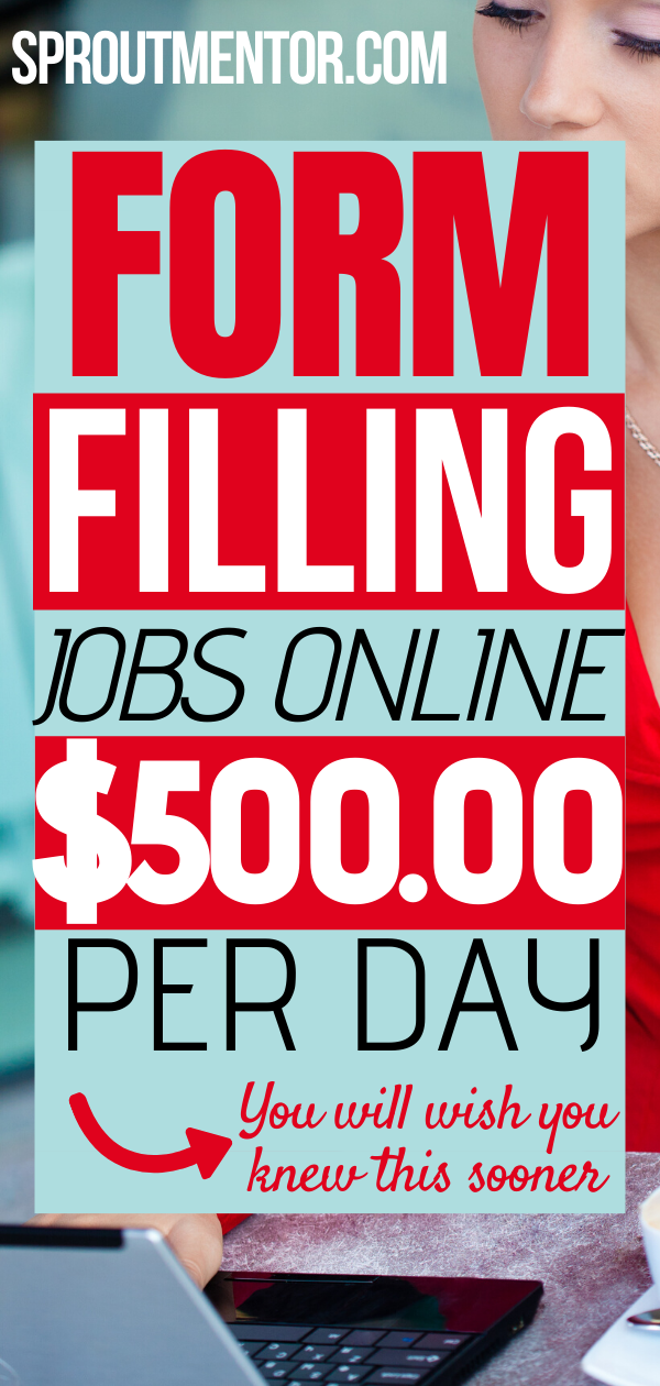 Trusted Online Form Filling Jobs Without Investment Daily Payment Sproutmentor Typing Jobs Online Jobs From Home Data Entry Jobs