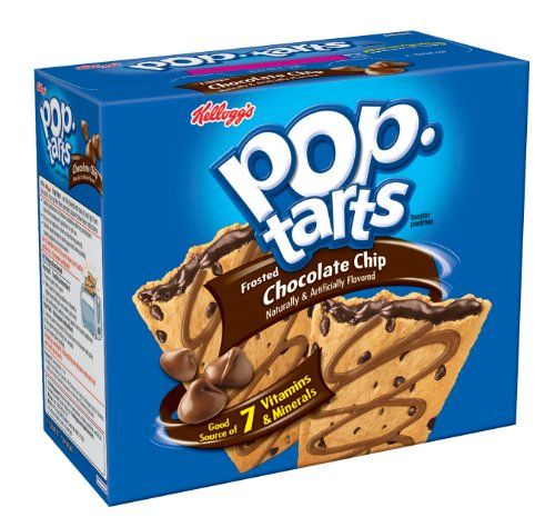 Kellogg's® Pop-Tarts® Chocolate Chip toaster pastries are Made For Fun! Fully baked and ready to eat right from the box...