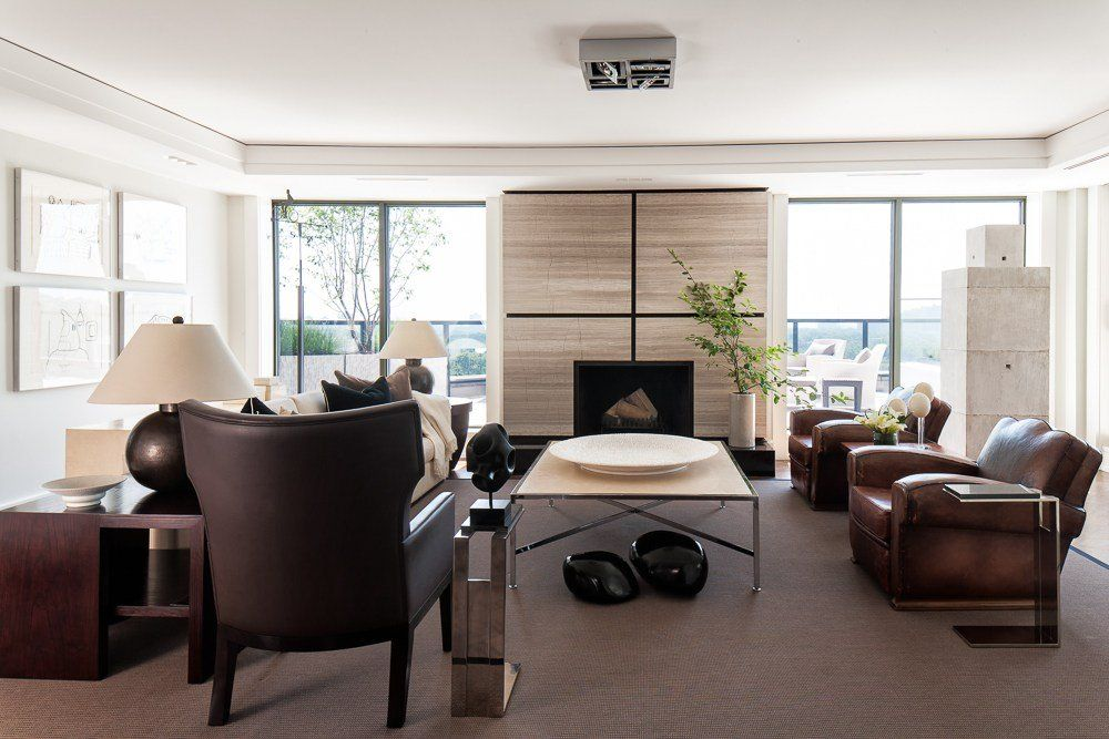 Soggiorni contemporanei • 100 idee e stile per un soggiorno raffinato