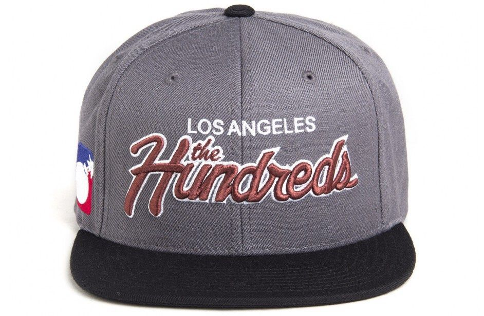 sports shoes aa828 02f5c The Hundreds  Team Two  Strapback - Charcoal