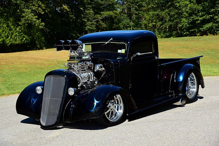 1 147 Hp Shakes The Streets In This 1937 Chevy Pickup Classic