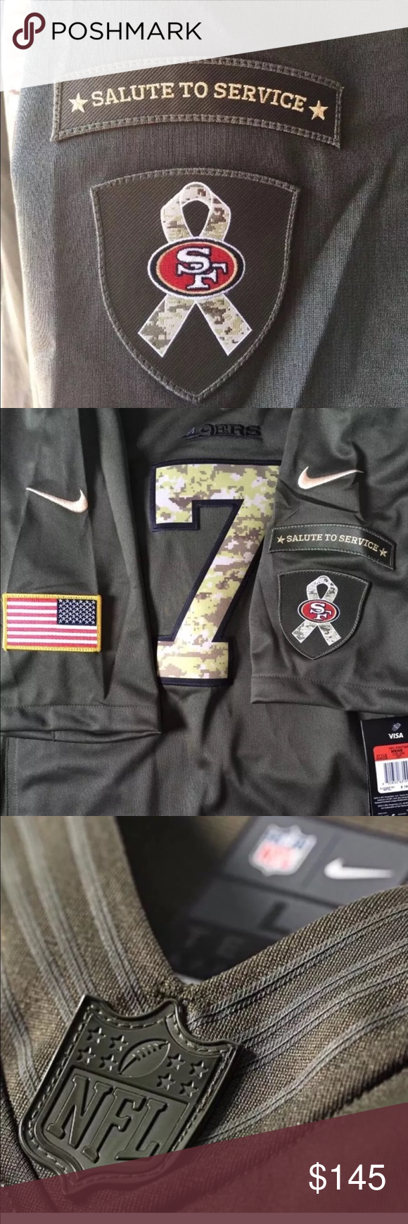 official photos 7714f 51b71 New San Francisco 49ers salute to service sizeXL NWT NFL San ...
