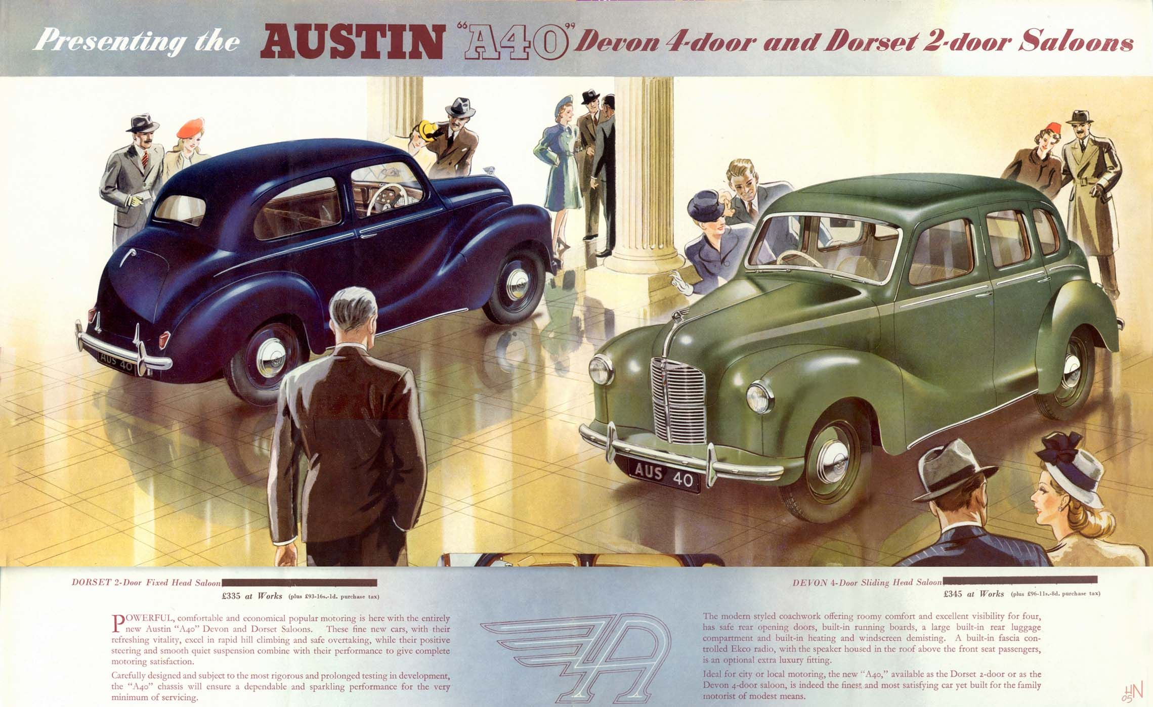 Austin A40 (from the 1940s I think)   1940\'s CAR   Pinterest   Cars