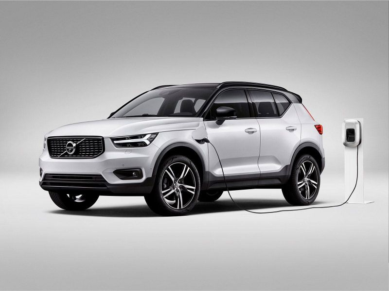 The Xc40 Will Become The First Fully Electric Volvo Hybrid Car Volvo Electric Cars