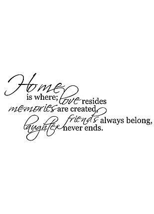 The Best Things In Life ~ Love Memories Wall Quote Home Art Decal PVC Stick V9K2