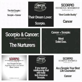 Scorpio and Cancer Revealed