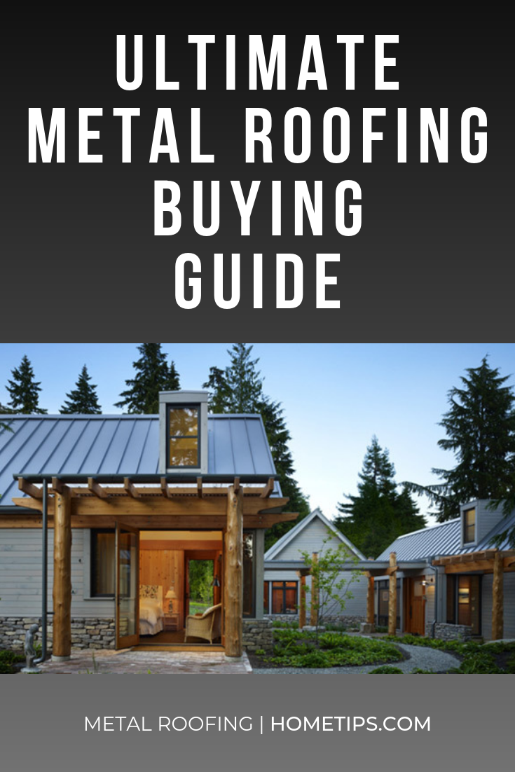 Metal Roofing Ultimate Buying Guide Hometips Farm House Living Room Home Decor Metal Roof
