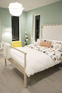 Image result for gjora bed ideas | House Remodel | White bedroom ...