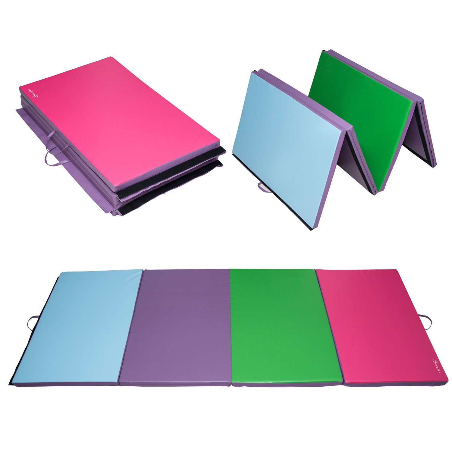 gymnastics tumbling athletic mats mat folding ebay picture used arts p of z martial