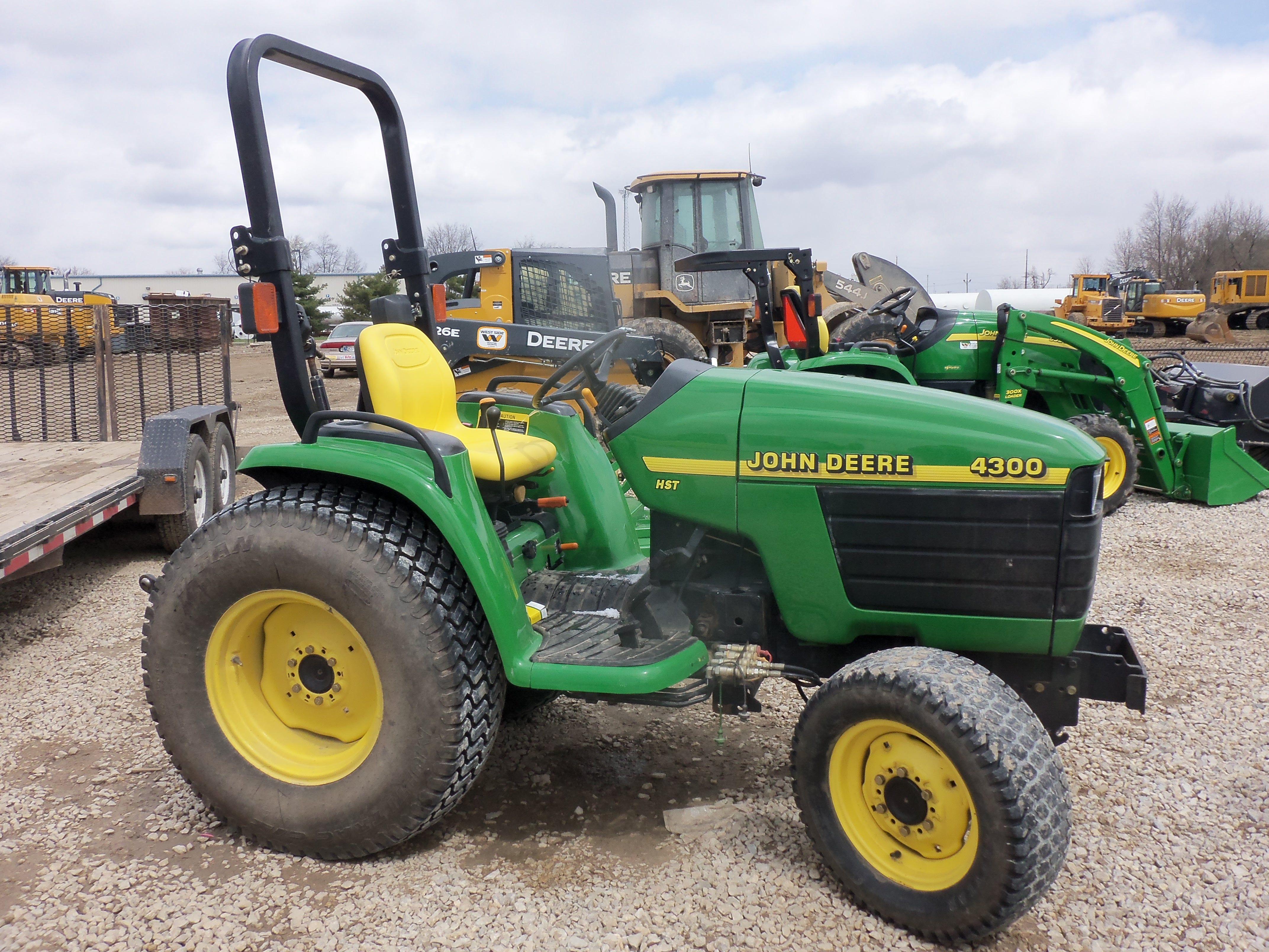John Deere 4300 compact diesel tractor