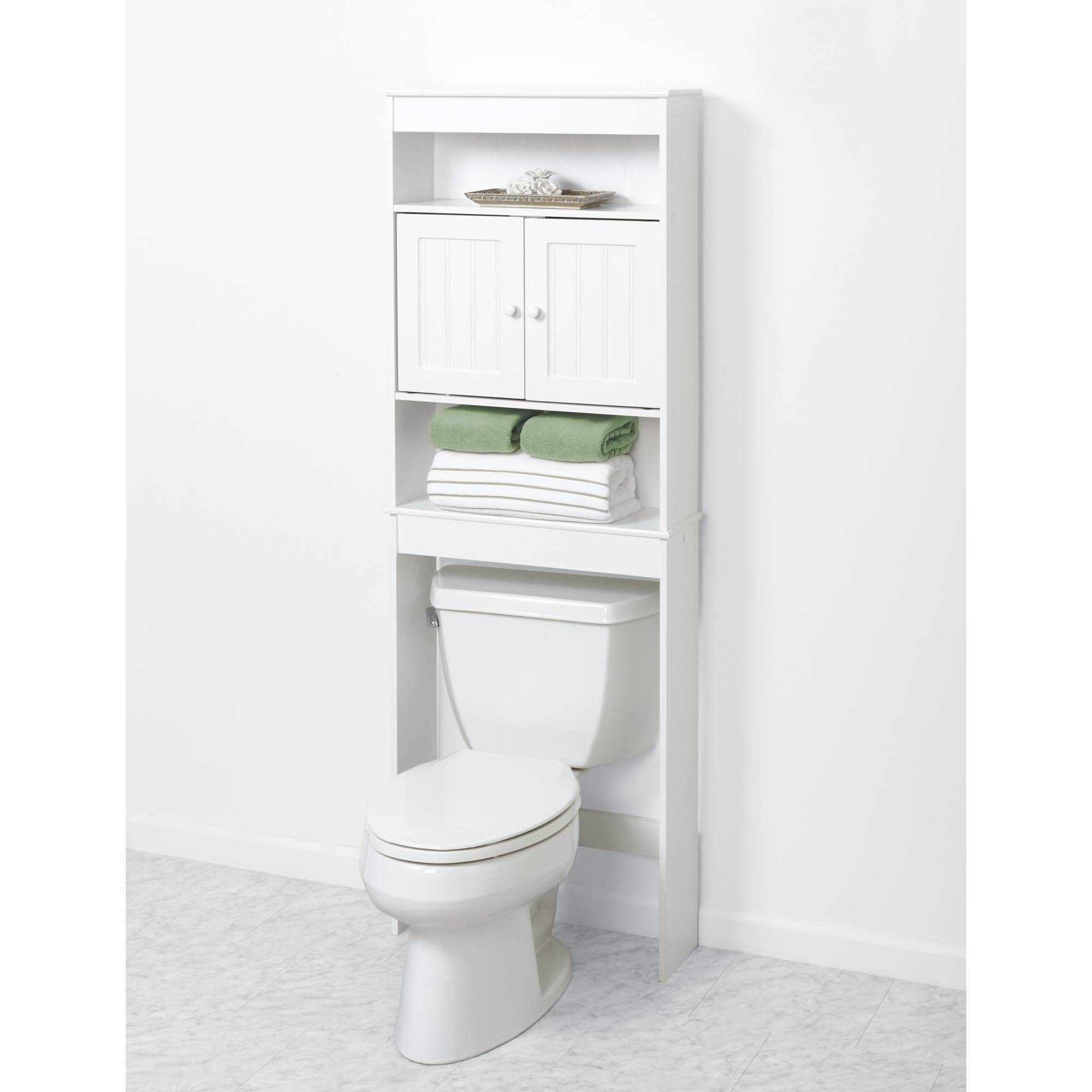 Country Cottage Space Saver 3 Shelves Wood White Zenna Home