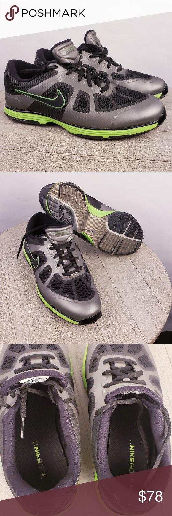 buy online 22821 5efcd Nike Lunar Ascend Golf Shoe - Mens Wide Black Grey Nike Hyperfuse Lunar  Ascend Golf