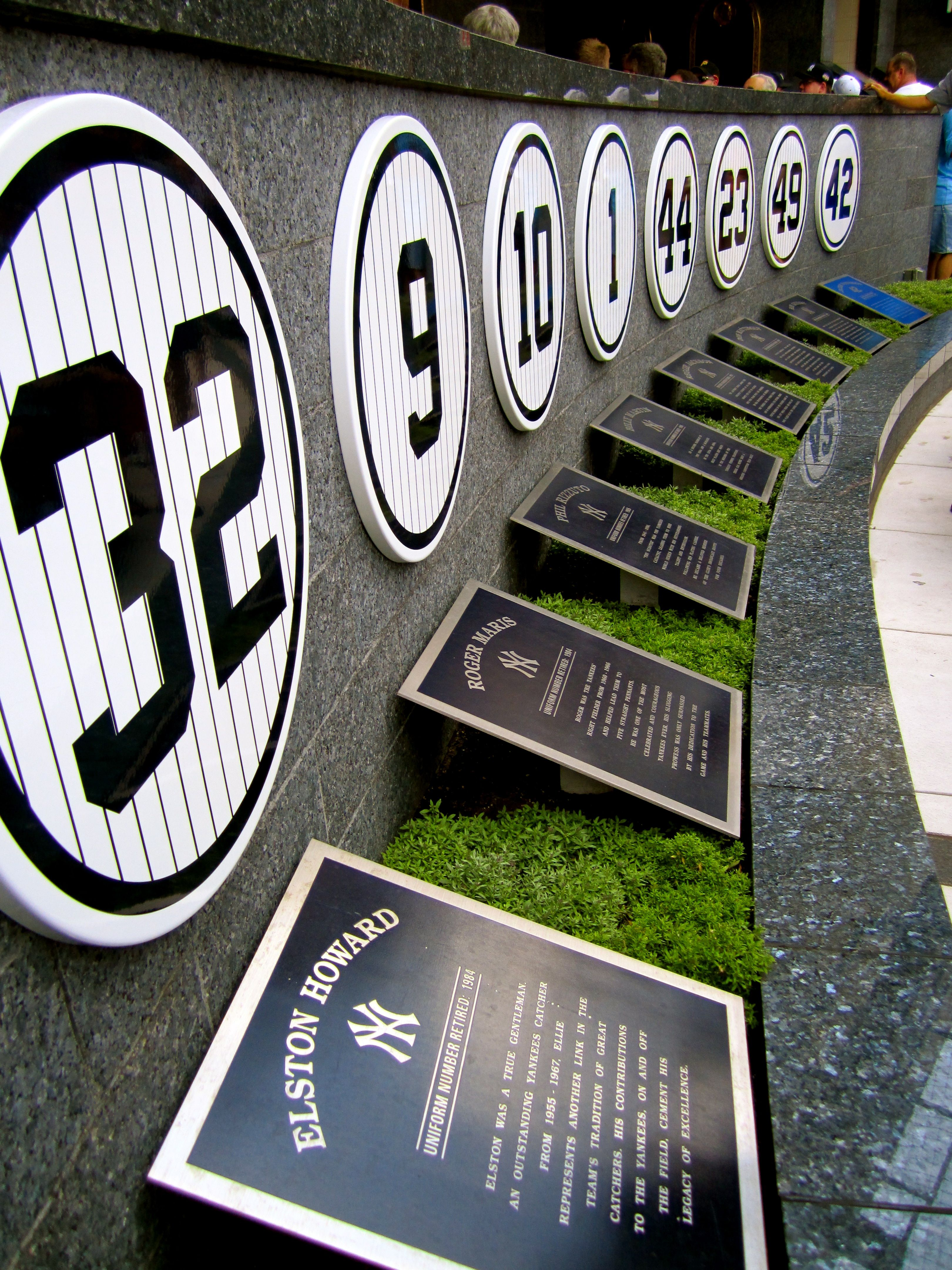 Monument Park Yankee Stadium New York Yankees Derek Jeter Yankees Yankees Baseball