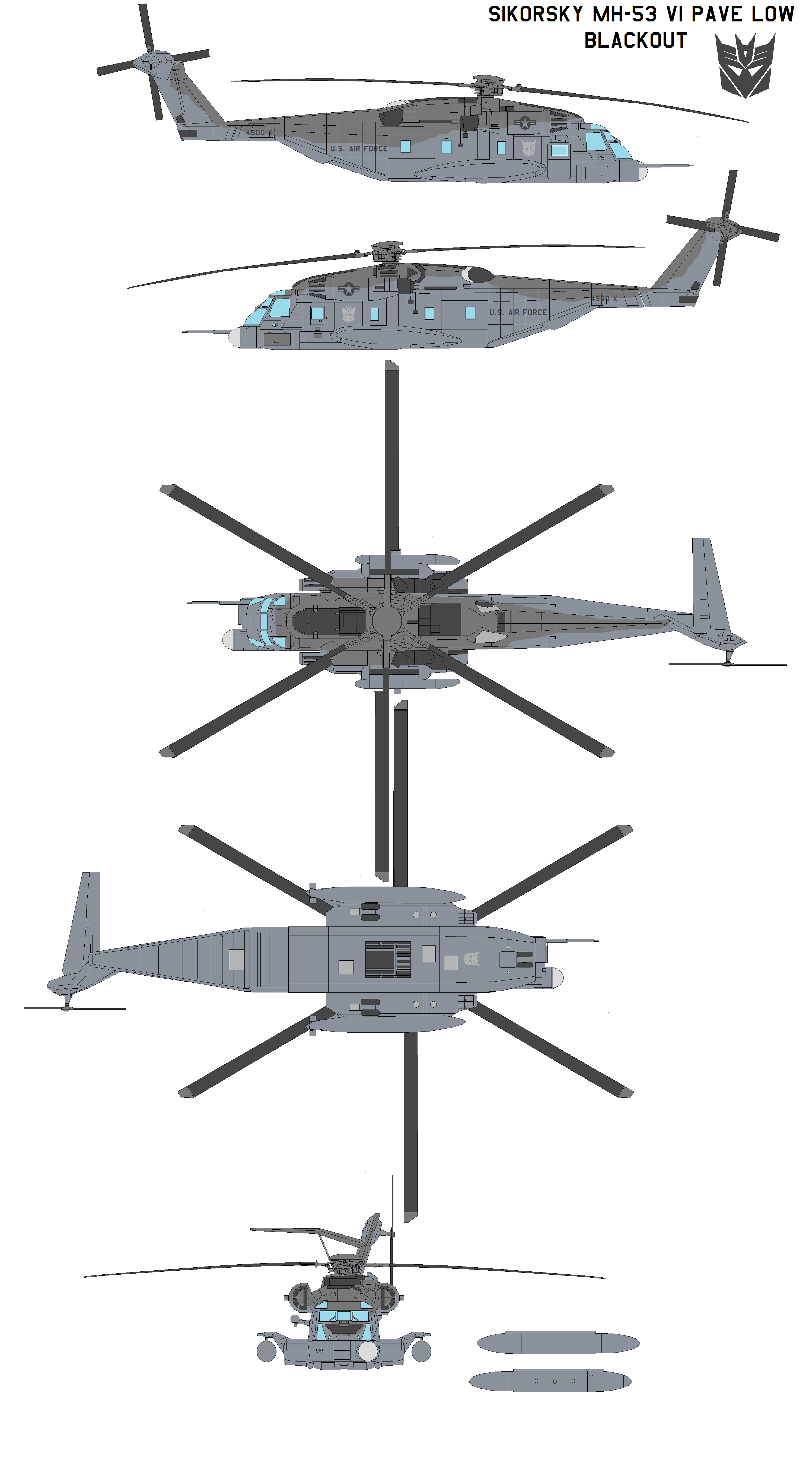 Mh 53 Pave Low Blackout By Bagera3005 On Deviantart Military Helicopter Sikorsky Military Aircraft