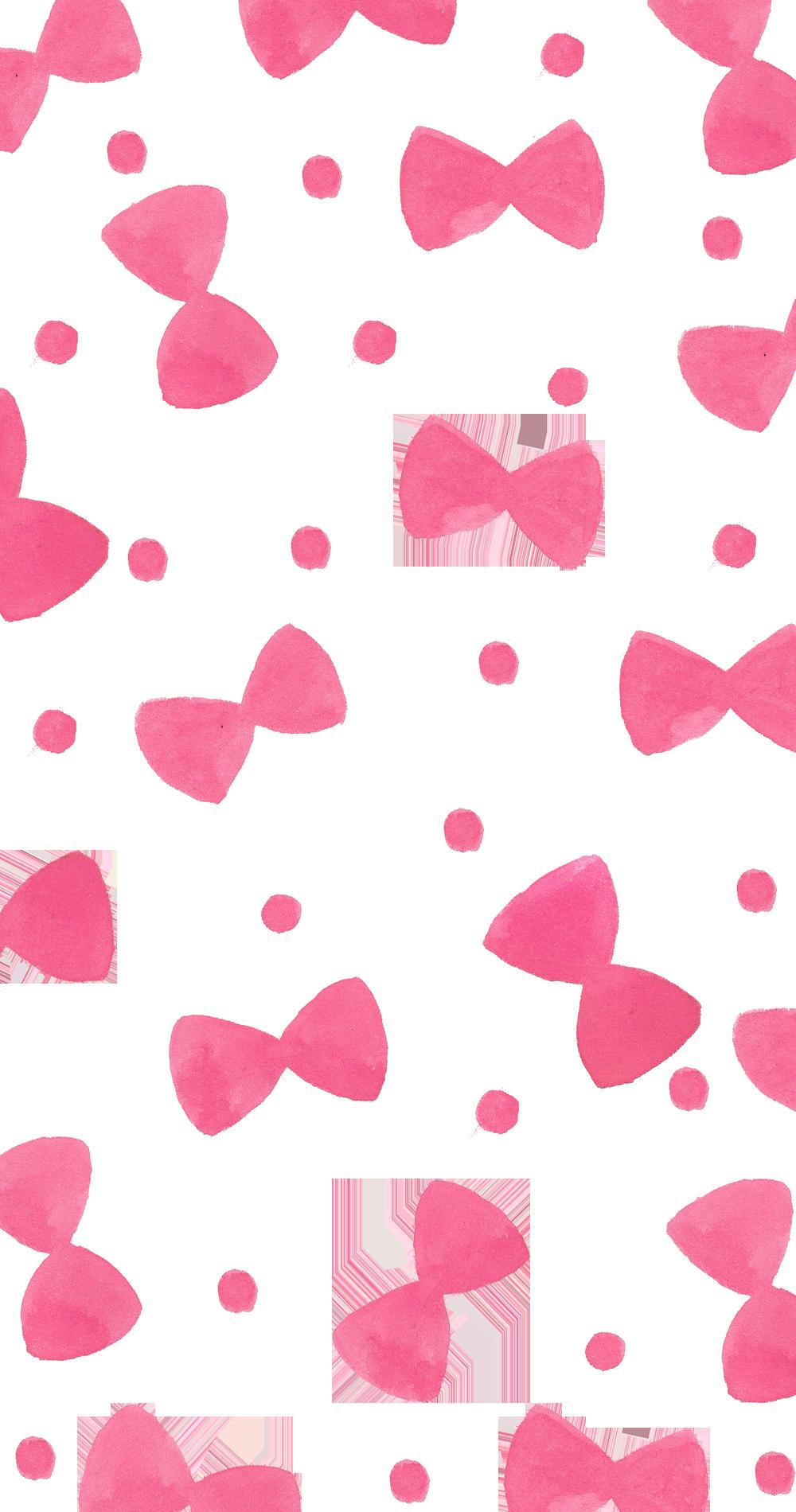 Pink Ribbons Casetify Iphone Art Design Illustrations