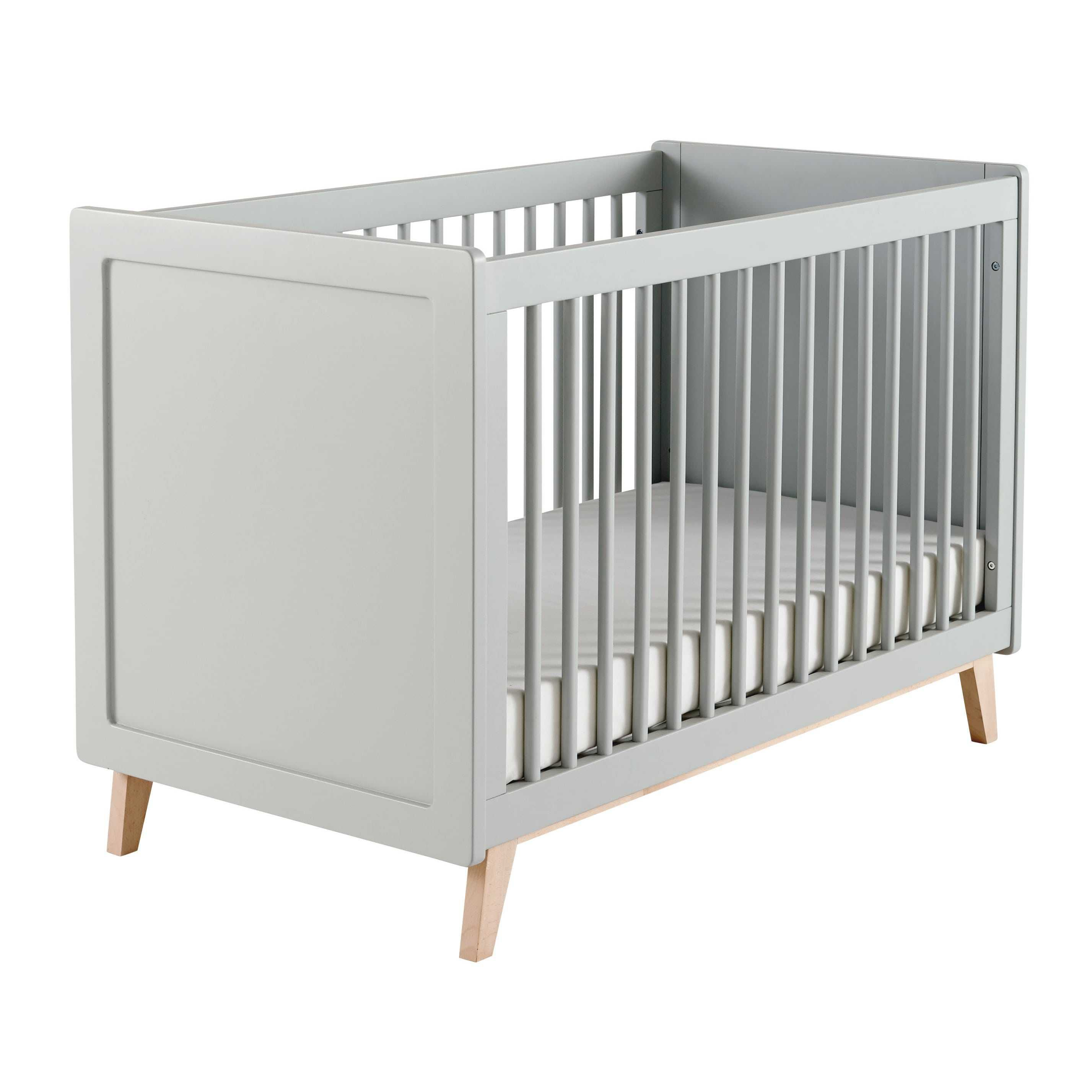 Ikea Spijlenbed Babys Little Peanut Baby Room Decor Grey Cot Baby
