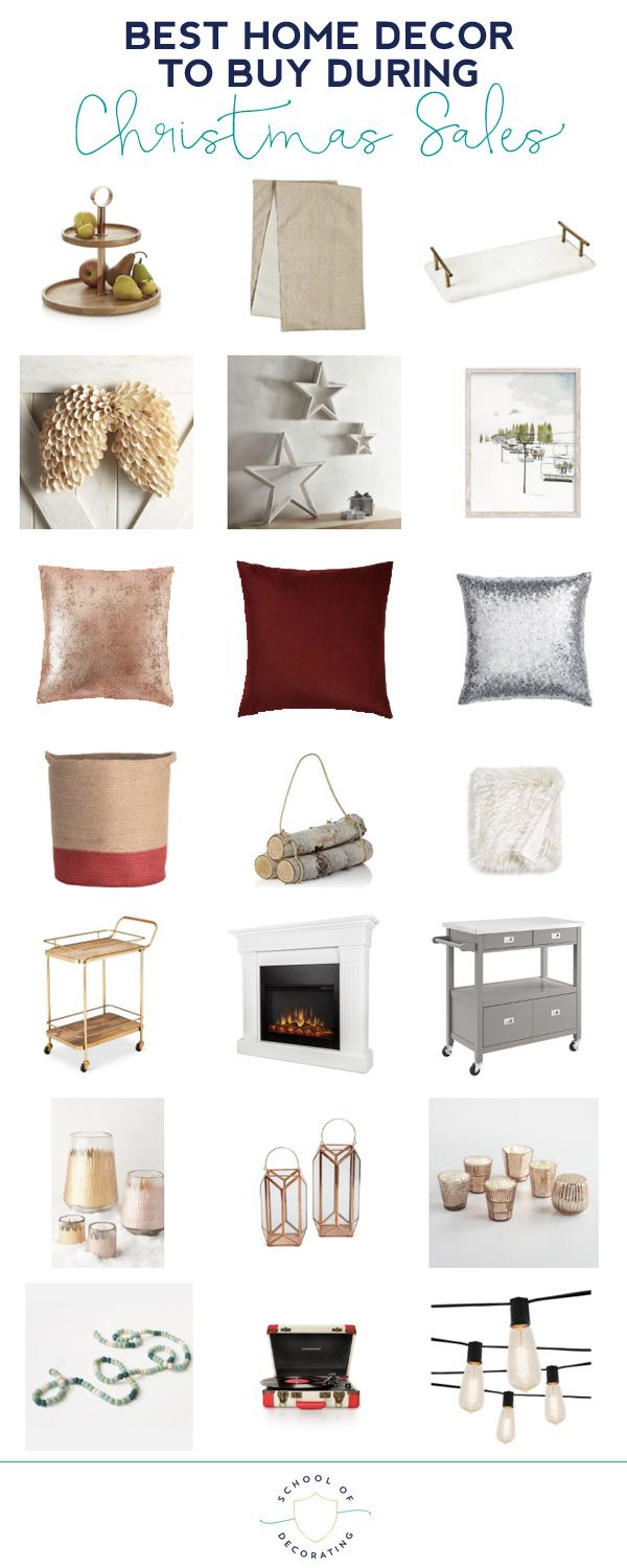 Here's a roundup of the best home decor categories to shop during Christmas  sales. Forget the half off ornament… | Home decor sites, Decor buy,  Wholesale home decor