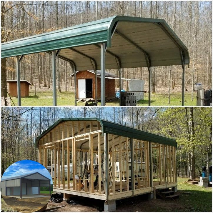 Pin by JFS1954 on Sheds in 2020 Metal building homes